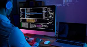 programador em computador